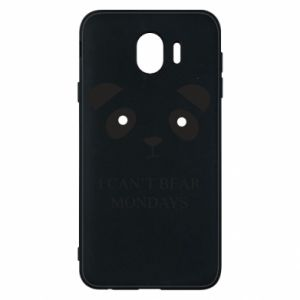 Phone case for Samsung J4 I can't bear mondays - PrintSalon