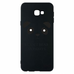 Phone case for Samsung J4 Plus 2018 I can't bear mondays - PrintSalon