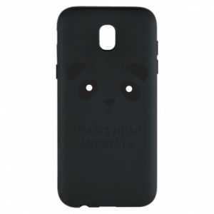 Phone case for Samsung J5 2017 I can't bear mondays - PrintSalon