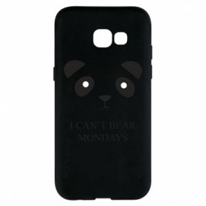 Phone case for Samsung A5 2017 I can't bear mondays - PrintSalon