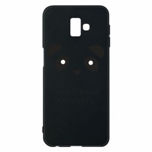 Phone case for Samsung J6 Plus 2018 I can't bear mondays - PrintSalon
