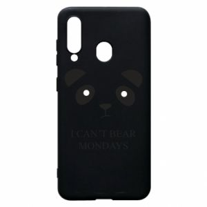 Phone case for Samsung A60 I can't bear mondays - PrintSalon