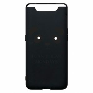 Phone case for Samsung A80 I can't bear mondays - PrintSalon