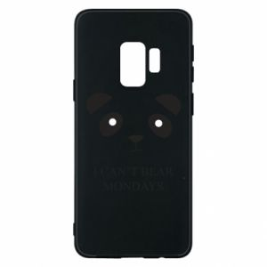 Phone case for Samsung S9 I can't bear mondays - PrintSalon
