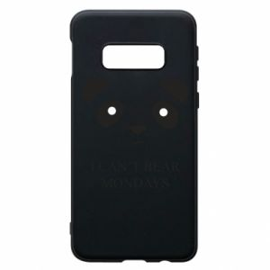 Phone case for Samsung S10e I can't bear mondays - PrintSalon