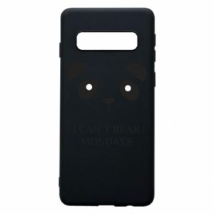 Phone case for Samsung S10 I can't bear mondays - PrintSalon