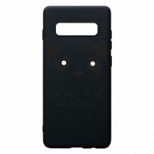 Phone case for Samsung S10+ I can't bear mondays - PrintSalon