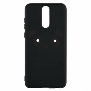 Phone case for Huawei Mate 10 Lite I can't bear mondays - PrintSalon