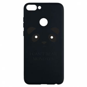 Phone case for Huawei P Smart I can't bear mondays - PrintSalon