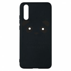 Phone case for Huawei P20 I can't bear mondays - PrintSalon