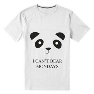 Men's premium t-shirt I can't bear mondays