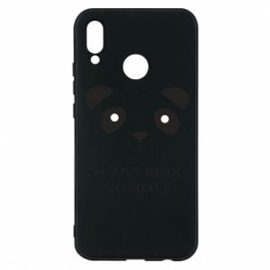 Phone case for Huawei P20 Lite I can't bear mondays - PrintSalon