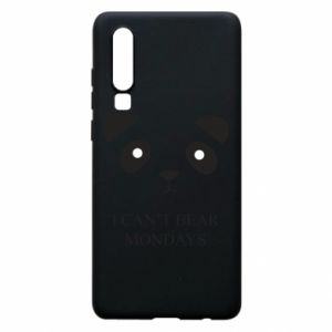 Phone case for Huawei P30 I can't bear mondays - PrintSalon