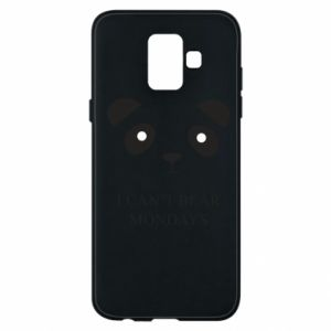 Phone case for Samsung A6 2018 I can't bear mondays - PrintSalon
