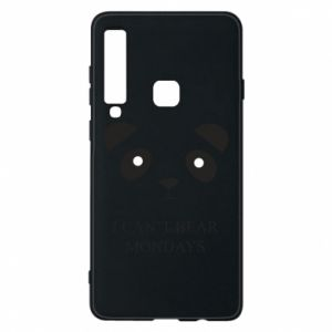 Phone case for Samsung A9 2018 I can't bear mondays - PrintSalon
