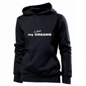 Damska bluza I chase my dreams