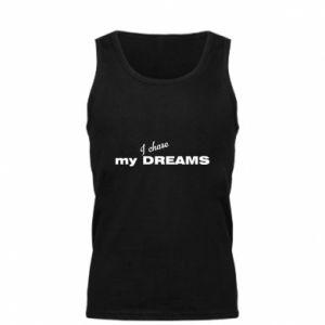 Męska koszulka I chase my dreams