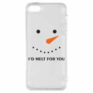Etui na iPhone 5/5S/SE I'd melt for you