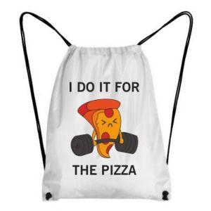 Plecak-worek I do it for the pizza