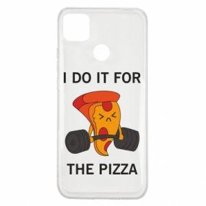 Etui na Xiaomi Redmi 9c I do it for the pizza