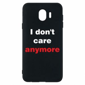 Etui na Samsung J4 I don't care anymore