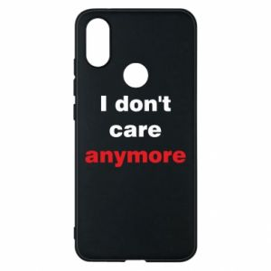 Etui na Xiaomi Mi A2 I don't care anymore