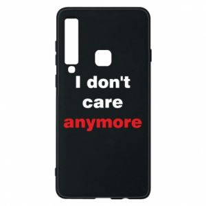 Etui na Samsung A9 2018 I don't care anymore