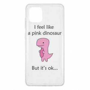 Etui na Samsung Note 10 Lite I feel like a pink dinosaur but it's ok