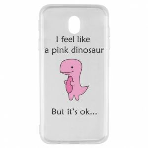 Etui na Samsung J7 2017 I feel like a pink dinosaur but it's ok