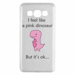 Etui na Samsung A3 2015 I feel like a pink dinosaur but it's ok