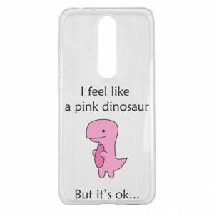 Etui na Nokia 5.1 Plus I feel like a pink dinosaur but it's ok