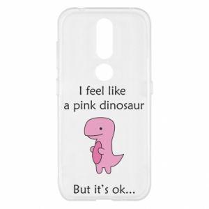 Etui na Nokia 4.2 I feel like a pink dinosaur but it's ok