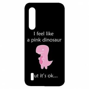 Etui na Xiaomi Mi9 Lite I feel like a pink dinosaur but it's ok