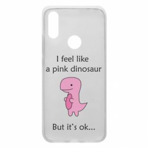 Phone case for Xiaomi Redmi 7 I feel like a pink dinosaur but it's ok