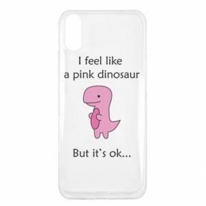 Etui na Xiaomi Redmi 9a I feel like a pink dinosaur but it's ok