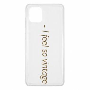 Etui na Samsung Note 10 Lite -I feel so vintage