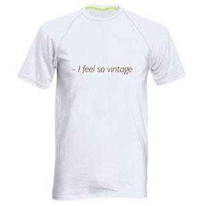 Koszulka sportowa męska -I feel so vintage
