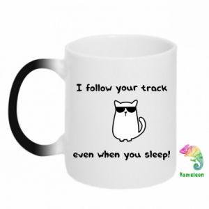 Magic mugs I follow your track even when you sleep!