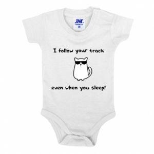 Body dla dzieci I follow your track even when you sleep!