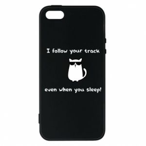 Etui na iPhone 5/5S/SE I follow your track even when you sleep!