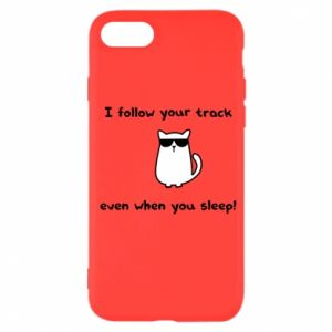 iPhone SE 2020 Case I follow your track even when you sleep!