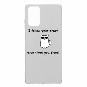 Samsung Note 20 Case I follow your track even when you sleep!