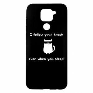 Xiaomi Redmi Note 9 / Redmi 10X case % print% I follow your track even when you sleep!