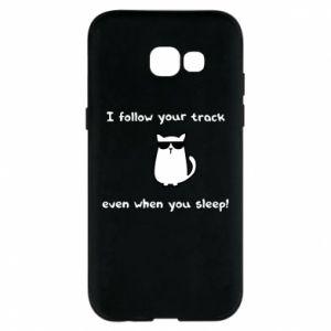 Samsung A5 2017 Case I follow your track even when you sleep!