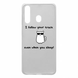 Samsung A60 Case I follow your track even when you sleep!