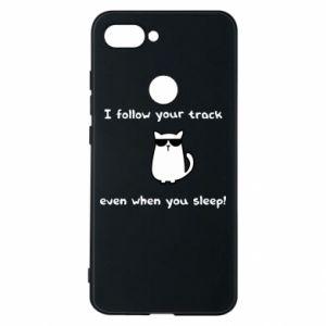 Xiaomi Mi8 Lite Case I follow your track even when you sleep!