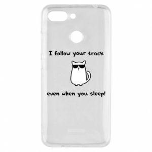 Xiaomi Redmi 6 Case I follow your track even when you sleep!