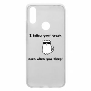 Phone case for Xiaomi Redmi 7 I follow your track even when you sleep!