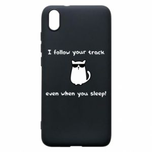 Xiaomi Redmi 7A Case I follow your track even when you sleep!