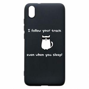 Phone case for Xiaomi Redmi 7A I follow your track even when you sleep!